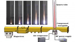 Prototype Microwave Air Plasma Thruster Schematic