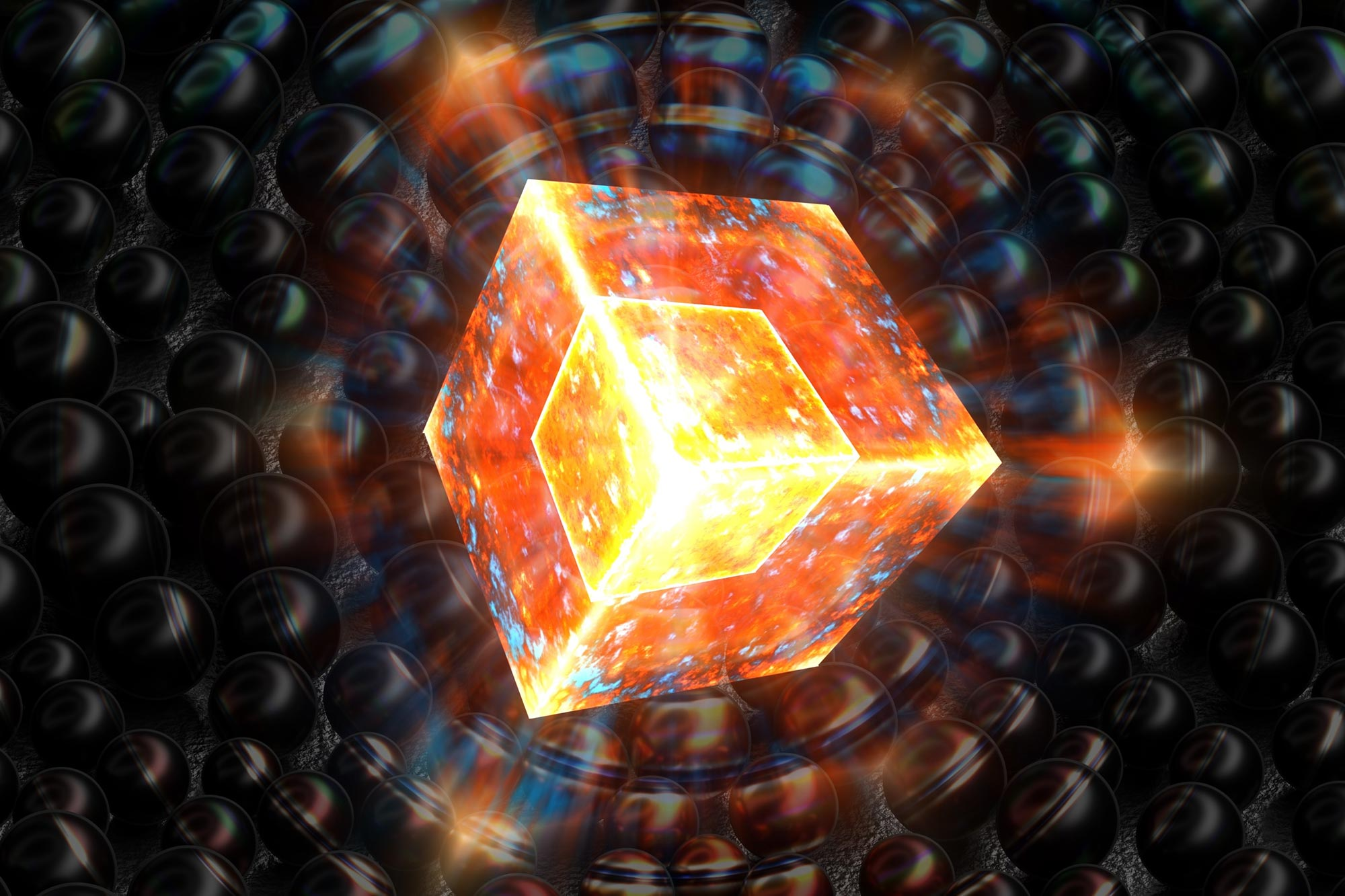 """Quantum Crystal With """"Time Reversal"""" Could Be a New Dark Matter Sensor - SciTechDaily"""