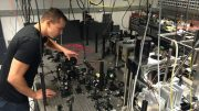 Quantum Entanglement Achieved at Room Temperature