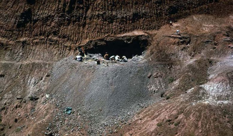 Quarry Where Deinonychus Was Discovered