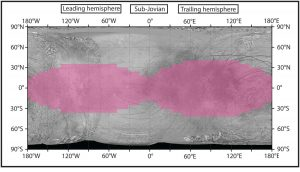 Radiation Maps of Jupiter's Moon Europa