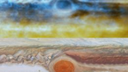 Radio Image Great Red Spot Jupiter