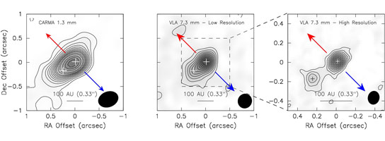 Radio Images of a Binary Protostellar System
