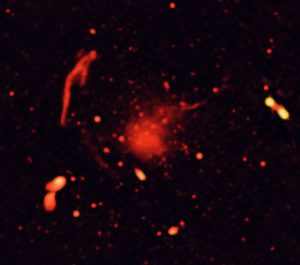 Radio-Only Image of Abell 2744
