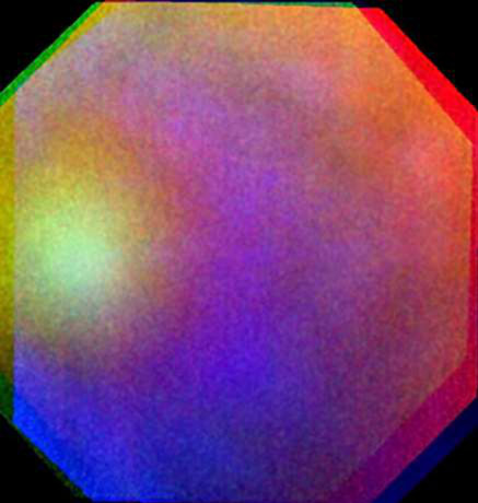 Rainbow Like Light Phenomenon Observed on Venus