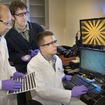 Rapid Fabrication of Nanoscale Geometric Grids Using Lasers