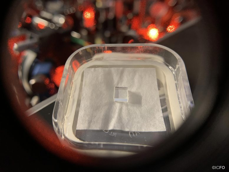 Rare Earth Doped Crystal Used As Quantum Memory