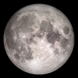 Rare Full Moon on Christmas Day 2015