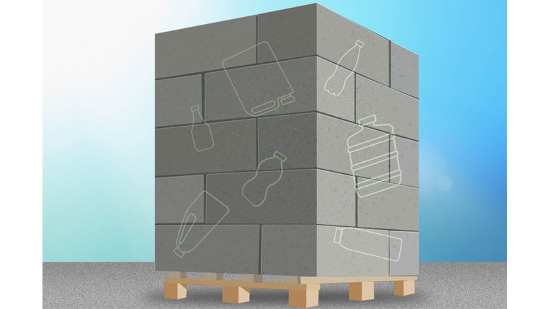 Recycled Plastic Fortifies Concrete