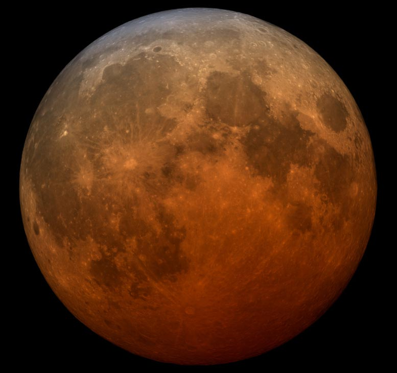 Red Blood Supermoon