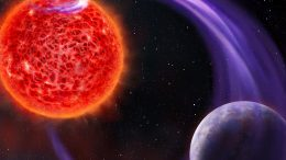 Red Dwarf Star Exoplanet Magnetic Interaction