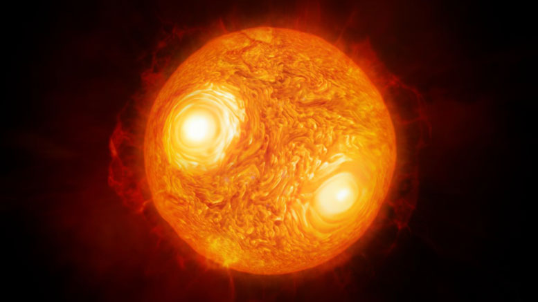 Astronomers Map Vigorous Atmospheric Motion in the Star ...