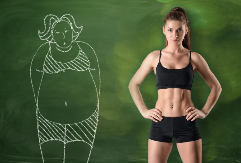 Reduce Belly Fat Concept