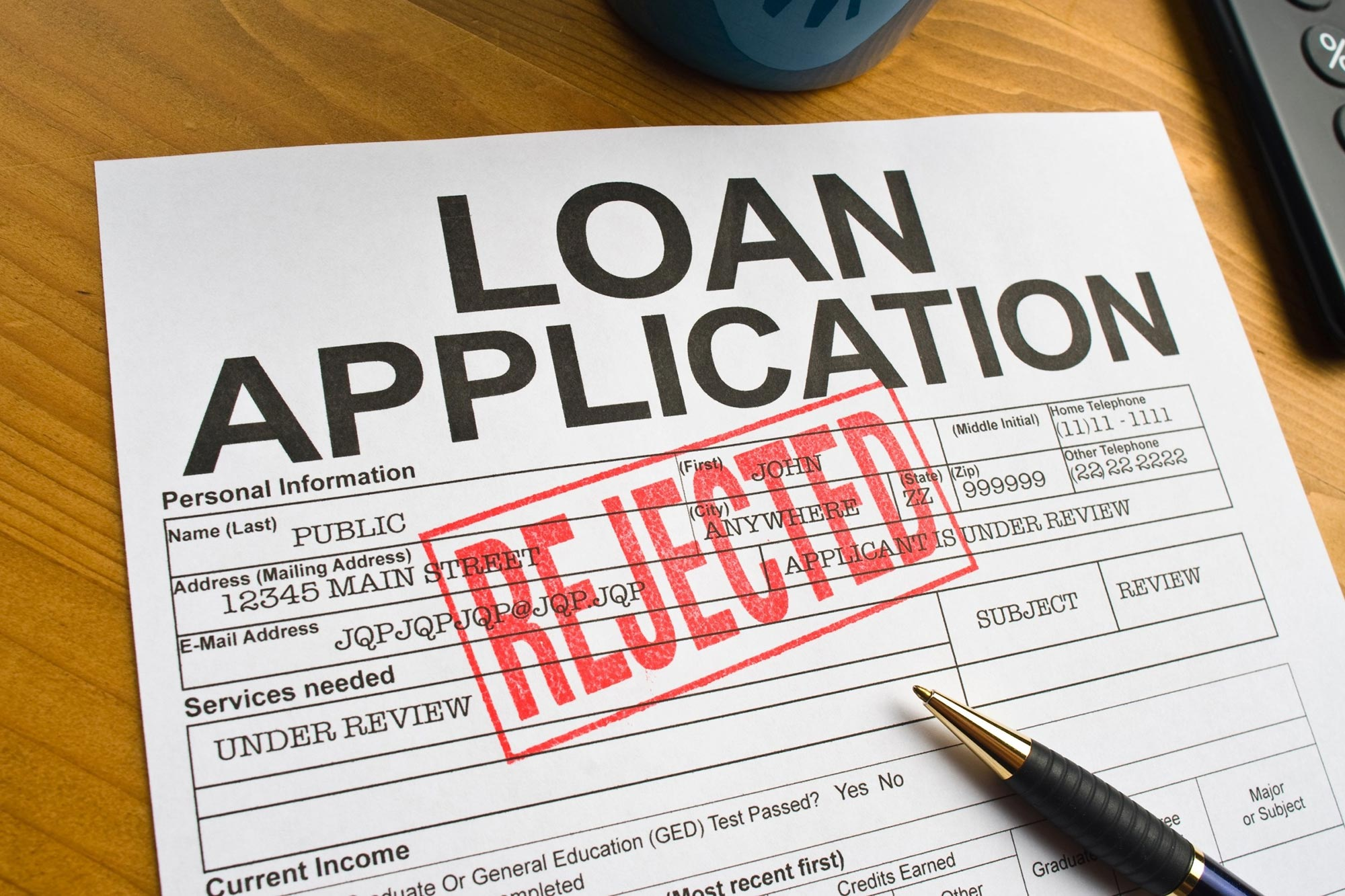 No! Loan Applications Processed Around Midday Are More Likely to Be Rejected