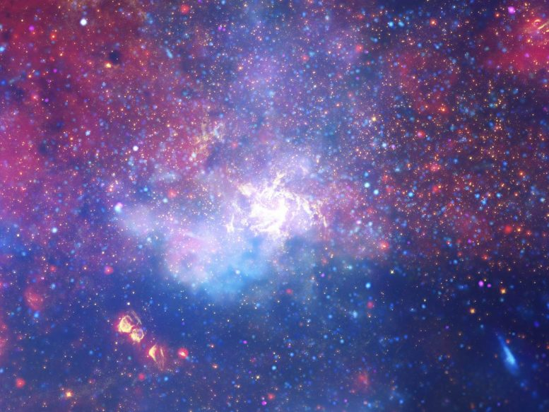 Remarkable Flares from the Galactic Center