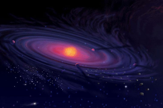 Research Shows Cosmic Turbulences Result in Star and Black Hole Formation