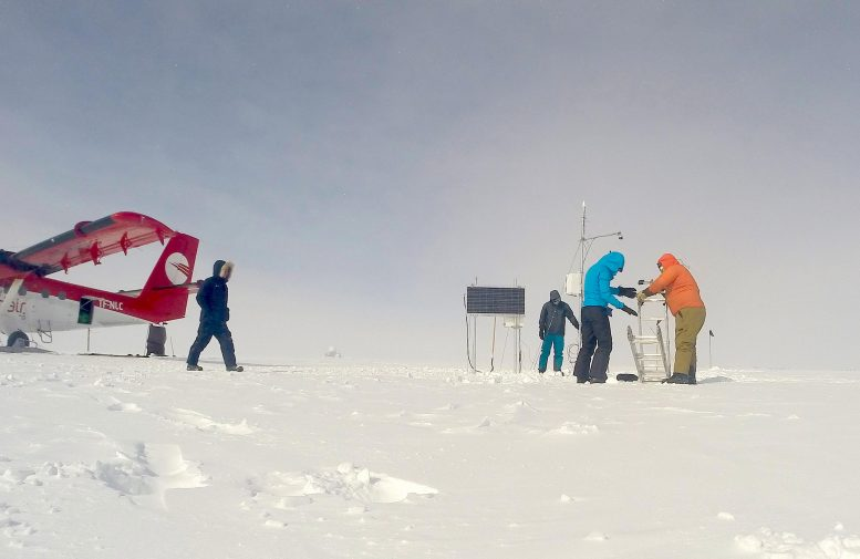 Research Team Greenland Ice Sheet