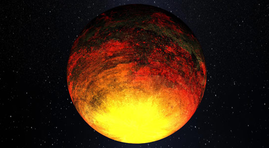 Researchers Analyze Exoplanets in Infrared Portion of Electromagnetic Spectrum to Determine Surface Composition
