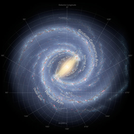 Researchers Chart the Milky Way From the Inside Out