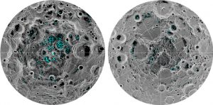 Researchers Confirm Ice at the Moon's Poles