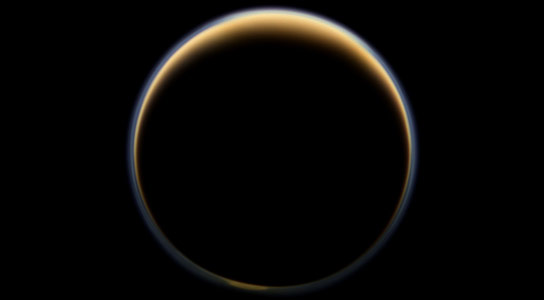 Researchers Confirm Presence of Complex Hydrocarbons in Upper Atmosphere of Titan