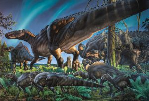 Researchers Discover Fossils from Dinosaurs That Lived in Cold Weather