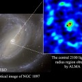 Researchers Discover Strange Chemical Composition Surrounding Supermassive Black Hole