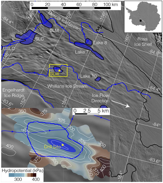 Researchers Discover an Active Ecosystem Below Subglacial Lake