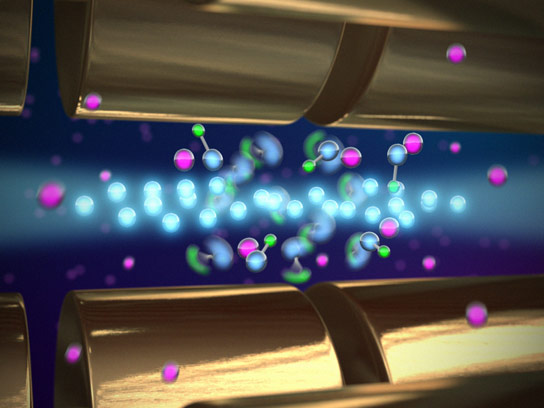 Researchers Discover an Efficient Way of Slowing the Rotation of Molecular Ions