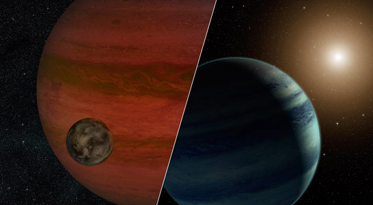 Researchers Discover the First Exomoon Candidate