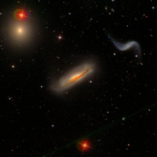 Researchers Find Evidence That Galaxies in Groups are Running Out of Fuel