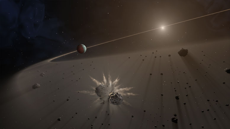 Researchers Look for Exoplanet Debris Disks