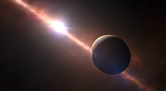 Researchers Measure the Length of an Exoplanet Day