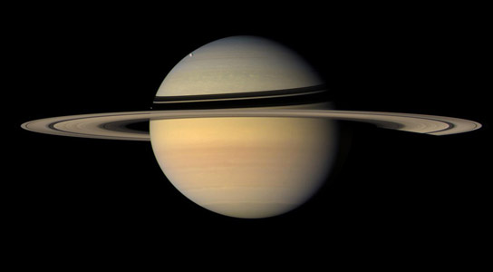 Researchers Pinpoint the Position of Saturn