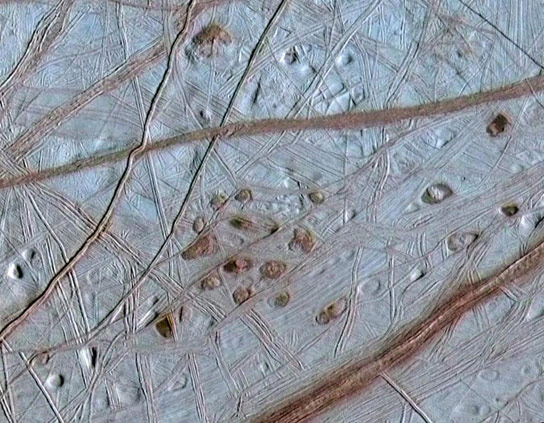 Researchers Recreate the Crust of the Moon Europa
