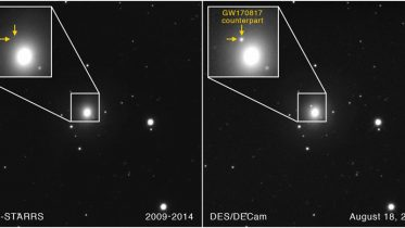 Researchers See Light Show Associated With Gravitational Waves