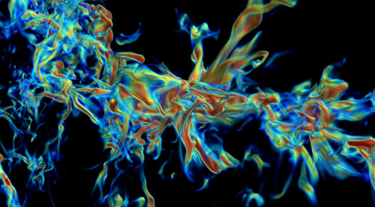 Researchers Simulate the Formation of Massive Stars from Turbulent Molecular Clouds