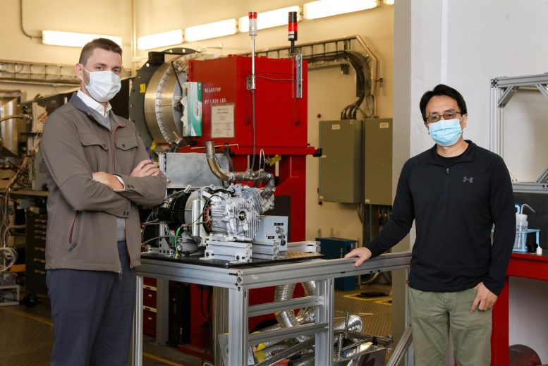Researchers With Prototype Engine