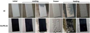 Researchers create ultra slippery anti-ice and anti-frost surfaces