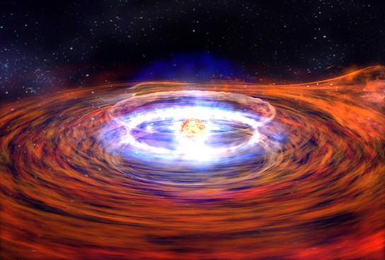 Researchers find the first neutron star