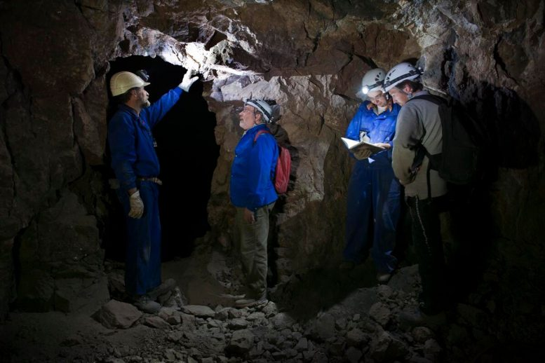 Researchers in Mine