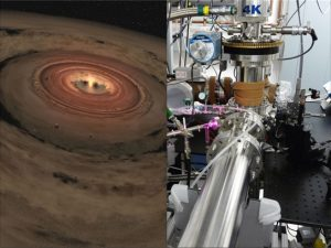 Researchers mimic materials at the edge of our solar system