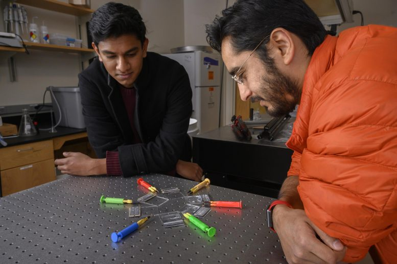 Researchers with ElectroPen