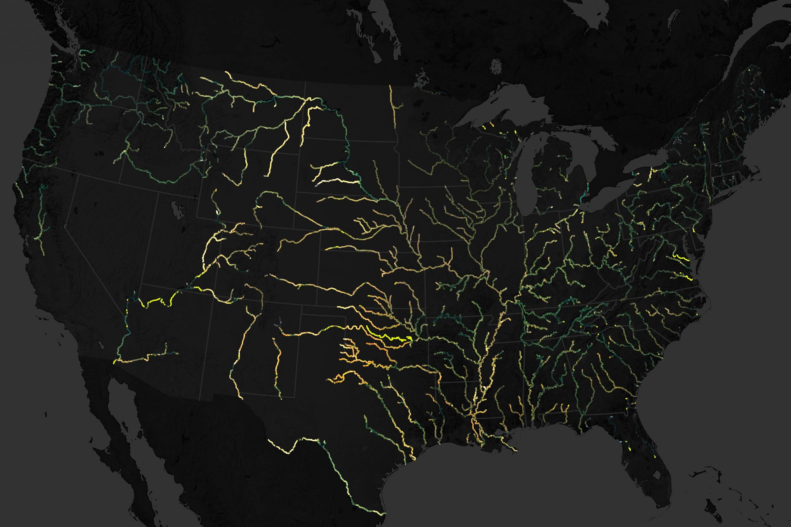 River Colors Across the United States Are Changing