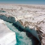 Rivers of Glacial Meltwater Are Draining Greenland Quickly