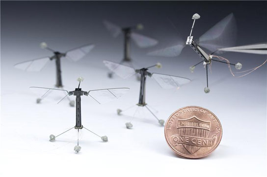 Robotic RoboBees Achieve Flight