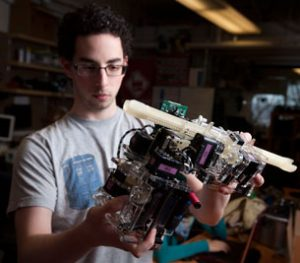Robots could climb and assemble structures