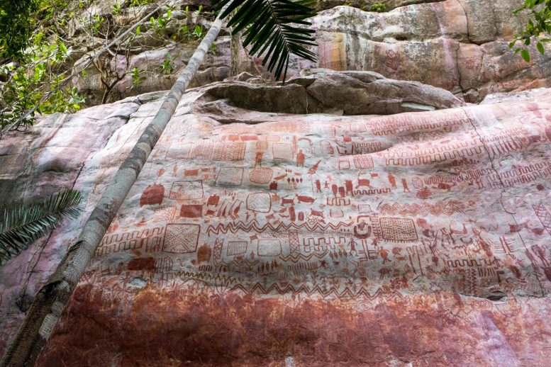 Rock Art Columbian Amazon