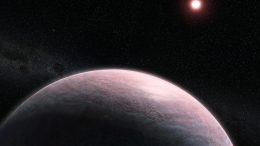 Rocky Exoplanet Orbiting Red Dwarf Star