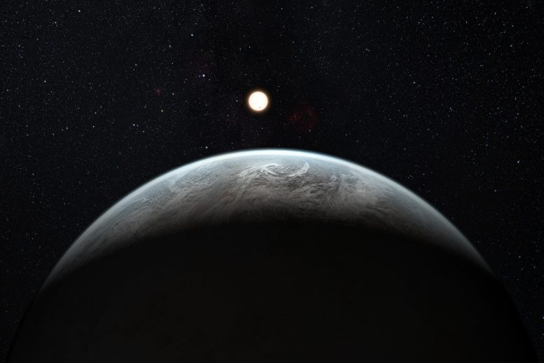Rocky Super-Earth Planet HD 85512 B